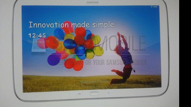 'Gelekte foto's tonen Samsung Galaxy Tab 3 Plus'