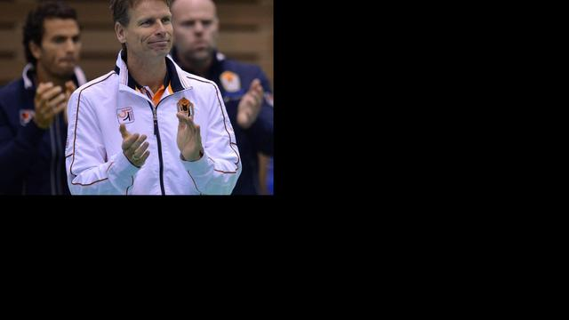 Nederland niet geplaatst bij Davis Cup-loting