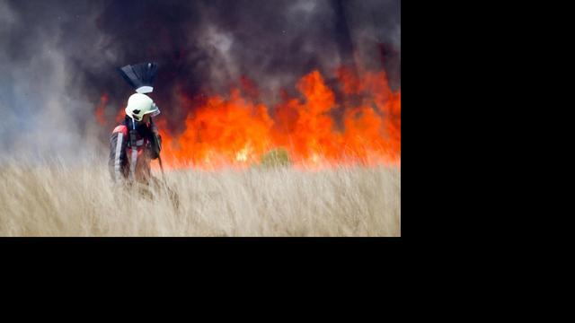 Brandgevaar in de natuur blijft groot