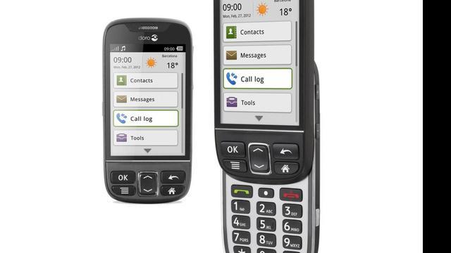 Doro introduceert seniorentelefoon met Android