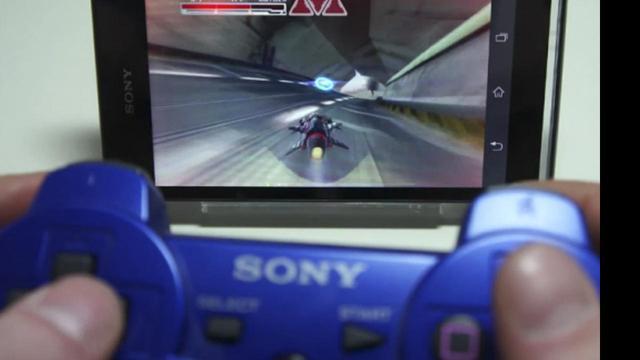 Sony laat Xperia-games besturen met PS3-controller