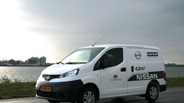 Actie voor bedrijfs-Nissans