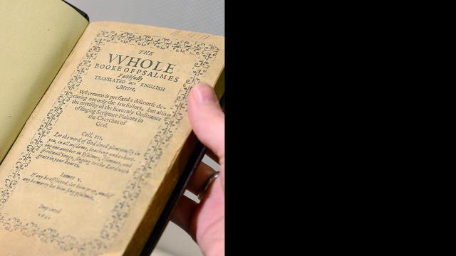 Oudste gedrukte boek VS wordt geveild