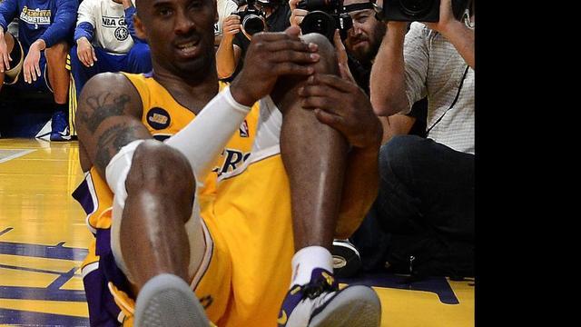 Blessure Bryant overschaduwt zege Lakers