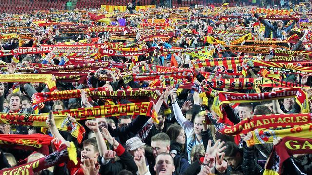 ... nl Sport Mixed Zone Deventer loopt uit voor huldiging Go Ahead Eagles