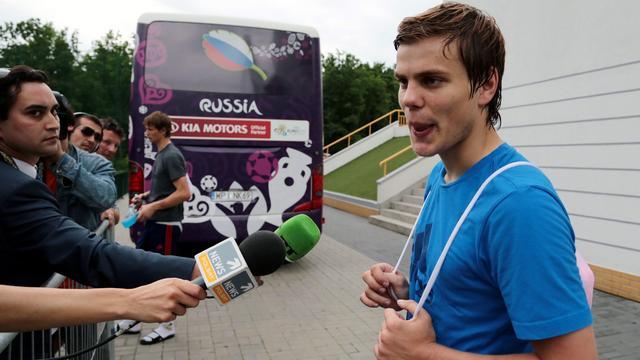 Nusport.nl voetbal afhaken kokorin tegenvaller jong rusland