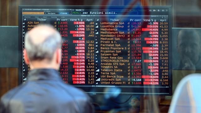 Hogere rente op Italiaanse leningen