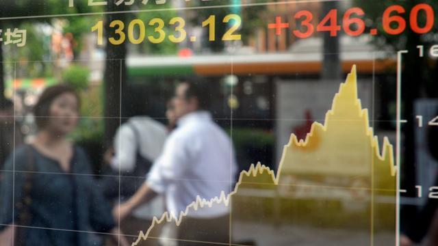 Verder dalende yen helpt Nikkei aan winst