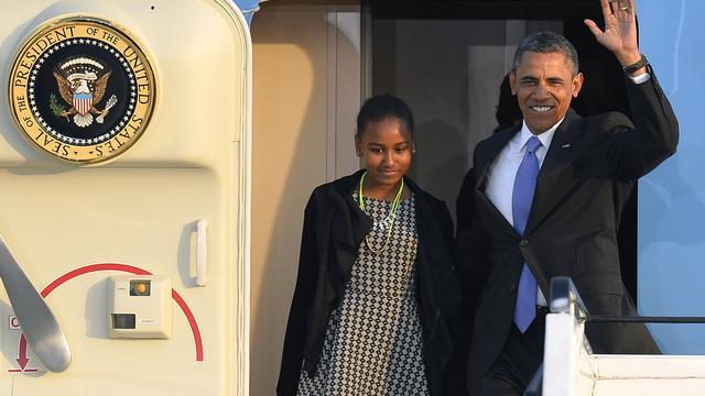 Obama's beginnen bezoek aan Zuidelijk Afrika