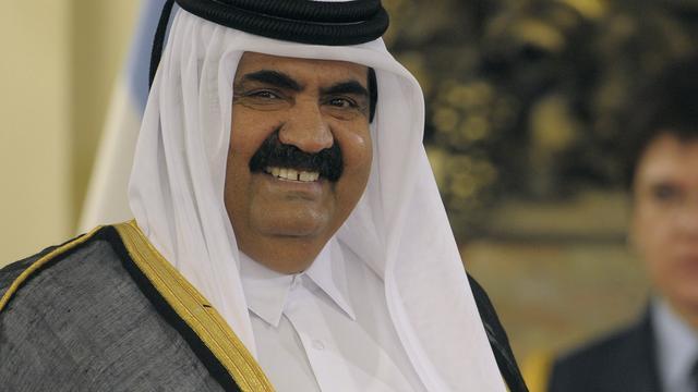 'Emir van Qatar van plan om af te treden'