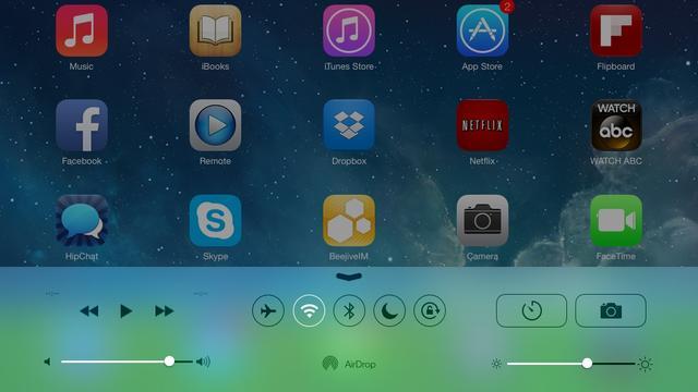 Testversie iOS 7 ondersteunt nu ook iPad
