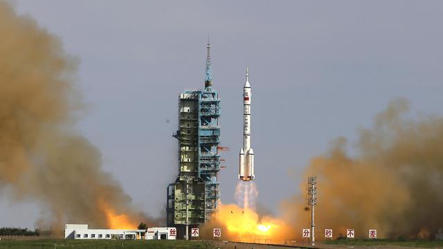 Chinese ruimtecapsule veilig terug op aarde