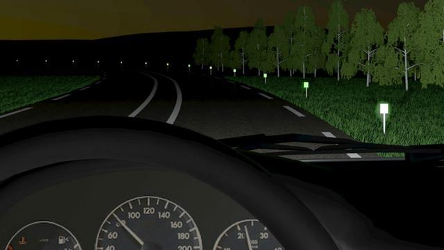 Startup maakt 'glow in the dark' straatverlichting