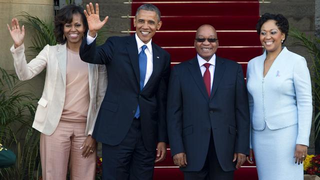 Obama noemt Mandela 'een held en een inspiratie'