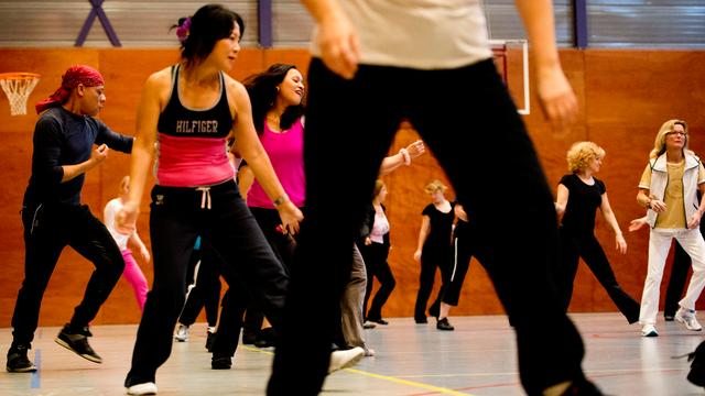 'Ook af en toe sporten heeft gunstig effect op de gezondheid'