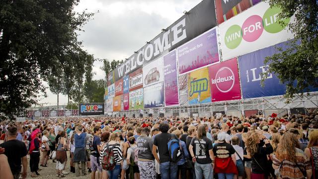 Rugzakken Belgische muziekfestivals niet verboden