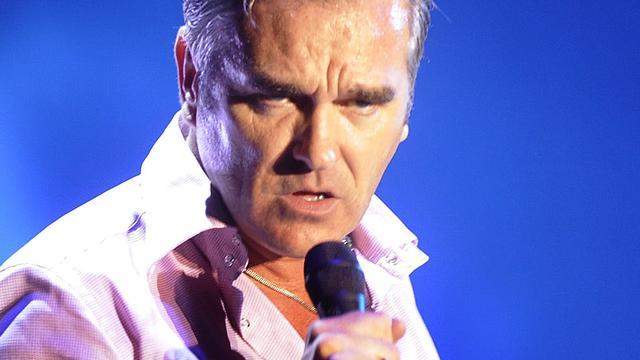 Morrissey op tournee door Europa
