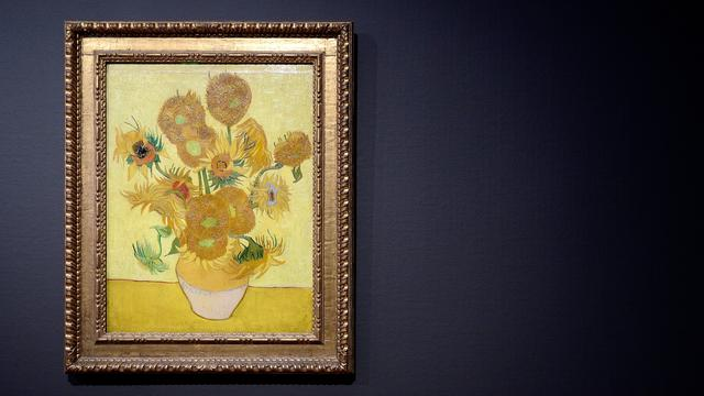 Van Gogh's zonnebloemen krijgen live eerbetoon