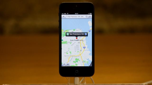 'Apple werkt aan grote update Apple Maps in iOS 8'