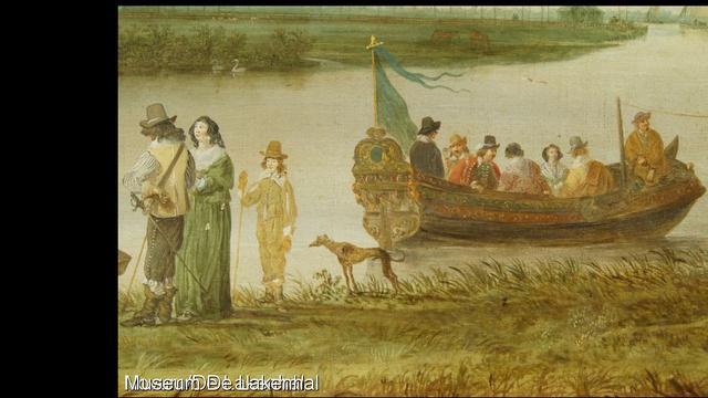 Grootste schilderij Jan van Goyen in Lakenhal