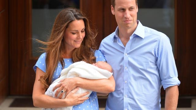 Kind William en Kate heet George