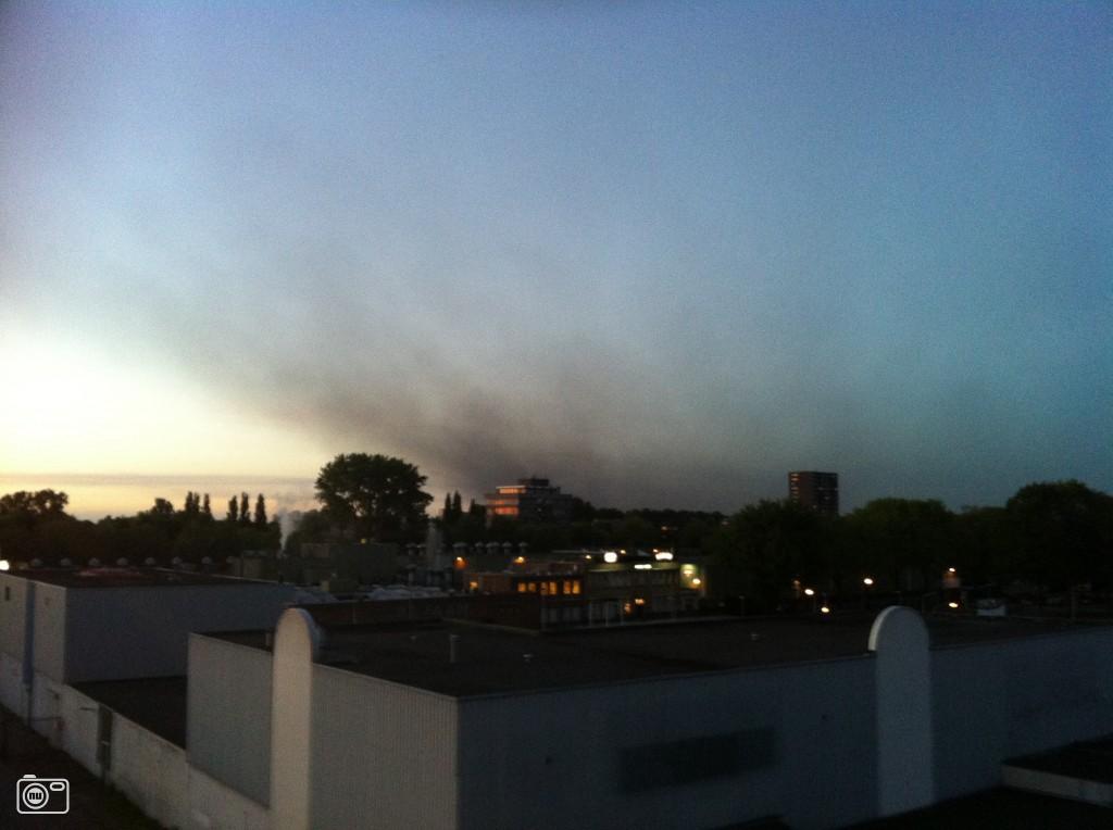 Explosie en brand chemiebedrijf Oosterhout foto 360688 ...