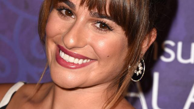'Relatie Glee-actrice Lea Michele voorbij'
