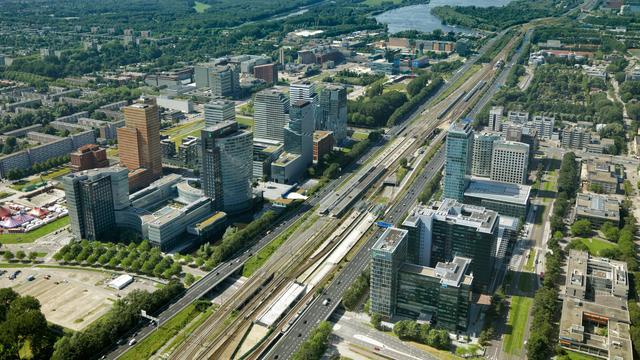 Amsterdam krijgt in 2018 veel nieuwe hoogbouw