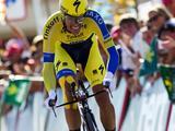 Contador moest op het parcours van Real Monasterio de Santa María de Veruela naar Borja 39 seconden toegeven op Martin.