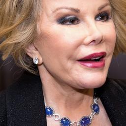 Joan Rivers klaagde over stem tijdens opname voor radiospot