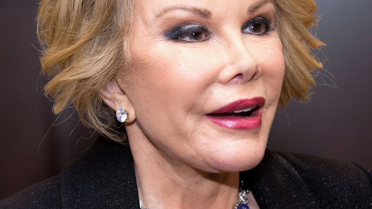 'Arts nam selfie met bedwelmde Joan Rivers'