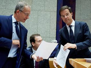 Rutte wil geen haast met belastingherziening