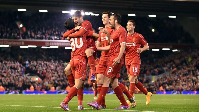 Spelers Liverpool nemen duizelig strafschoppen
