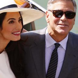 Honderden boetes tijdens bruiloft Clooney