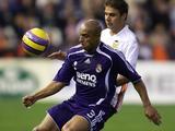 Roberto Carlos kwam namens Real Madrid en Fenerbahce tot 120 Champions League-wedstrijden.