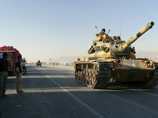 Grens Turkije en Syrië