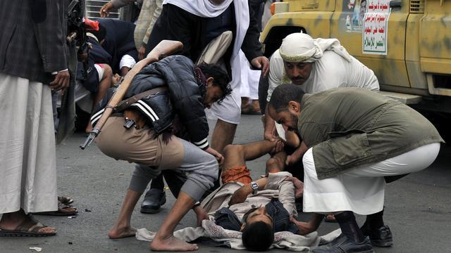 Veel doden bij hevige gevechten Jemen