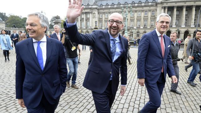 Vlaamse partijen in Belgische regering kibbelen met elkaar