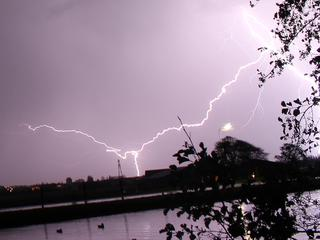 Onweer in Hillegom