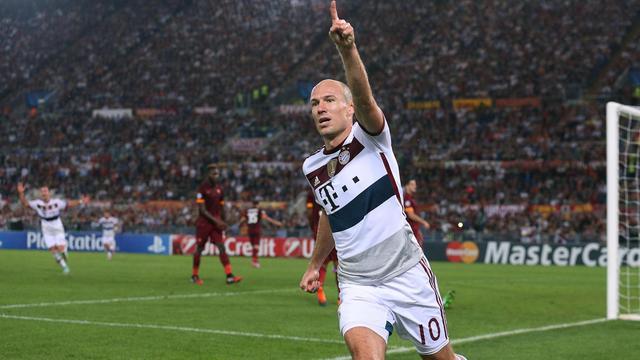 Arjen Robben op shortlist voor Gouden Bal