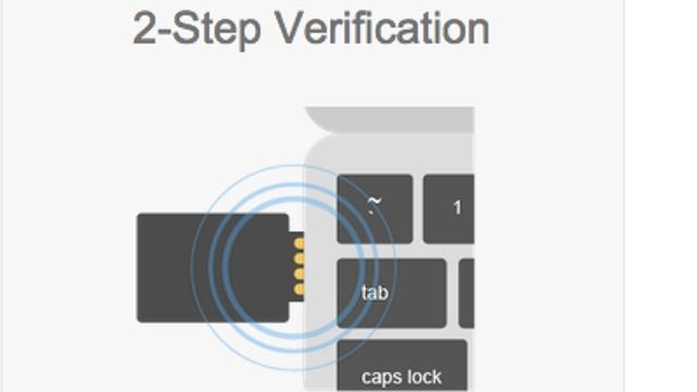Google komt met twee-staps-verificatie in usb-stick