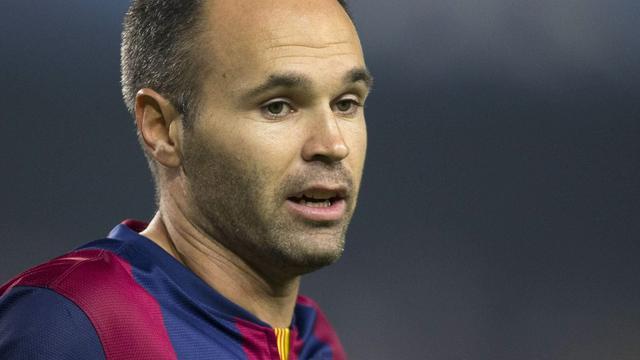 Iniesta keert terug in wedstrijdselectie FC Barcelona