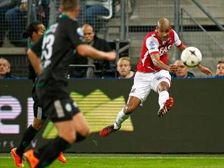 AZ-FC Groningen en Willem II-Heracles in beeld
