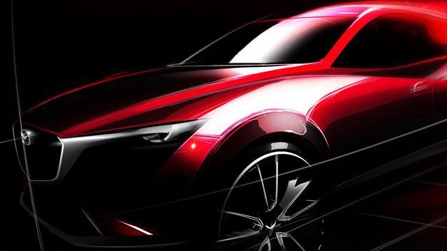 Mazda CX-3 debuteert op LA Auto Show