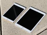 The iPad Air two 9.7-inch iPad Mini next 3 to 7.9 inches.