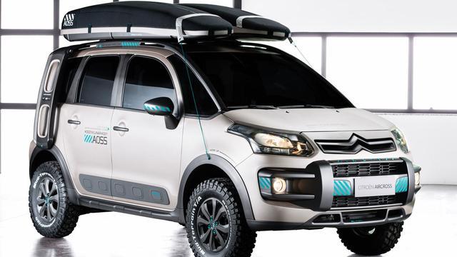 Citroën verkoopt C3 Aircross Lunar in Zuid-Amerika