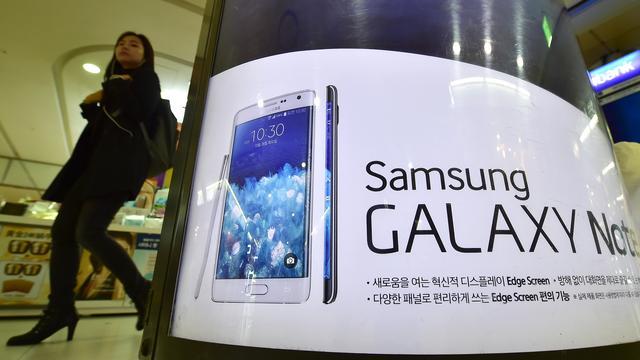 Winst Samsung gehalveerd na slecht kwartaal mobiele tak