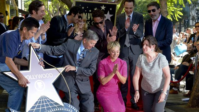 Walk Of Fame-ster voor Kaley Cuoco