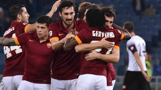 AS Roma profiteert van eerste nederlaag Juventus