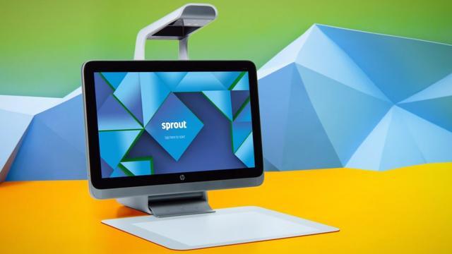 HP toont experimentele desktop-pc met ingebouwde 3d-scanner